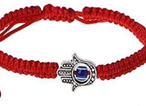 Pulsera Roja Amuleto Kabbalah