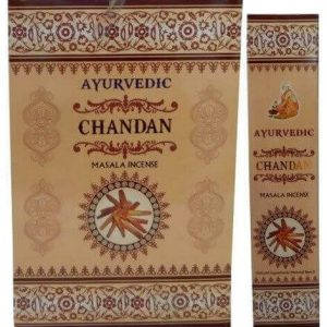 Incienso Ayurvedic Chandan 15g
