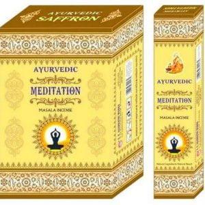 Incienso Ayurvédico Meditación 12g