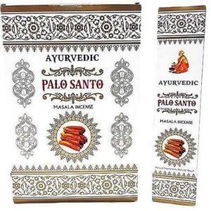 Incienso Ayurvédico Palo Santo 12g