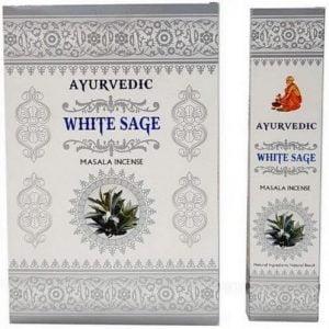 Incienso Ayurvédico Salvia Blanca 12g