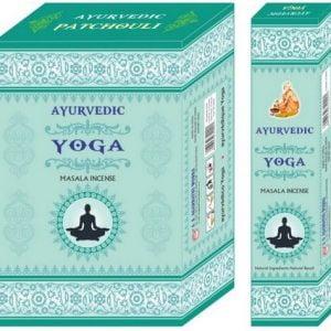 Incienso Ayurvédico Yoga 12g
