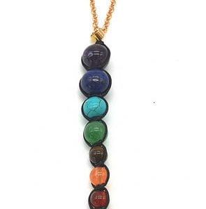Collar Cobre 7 Chakras
