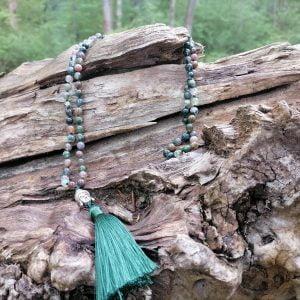 Collar Ágata Verde