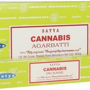 Incienso Satya Cannabis 15g