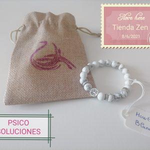 Pulsera Howlita Blanca