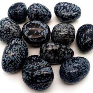 Piedra Obsidiana Nieve