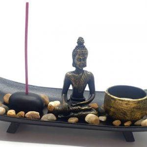 Jardín Zen Buda Ondulado  26cm
