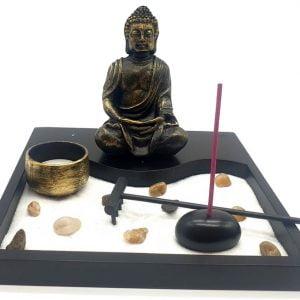 Jardín Zen Ola de Buda 20cm